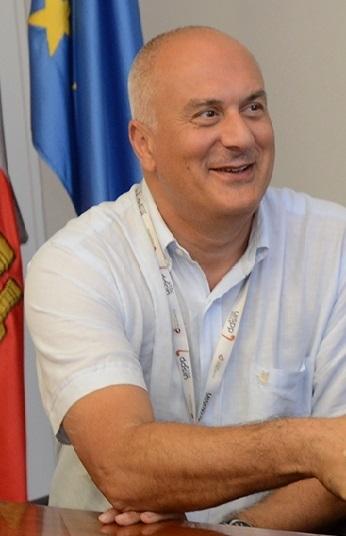 David Lordkipanidze, director del MNG, durante el Congreso de la UISPP en Burgos, en 2014.