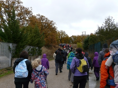 XIV Marcha a pie a los yacimientos desde la localidad de Ibeas de Juarros