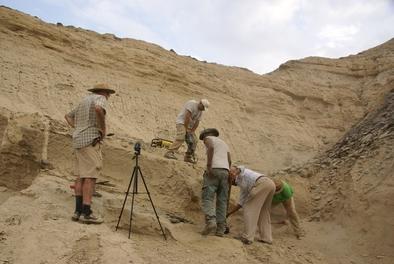 Excavación en el yacimiento de Ado Qwawleh.