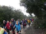Marcha a pie a los yacimientos de la sierra de Atapuerca