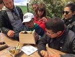 Jornada de educación y convivencia en la sierra de Atapuerca