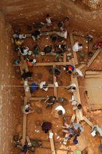 Campaña de excavación