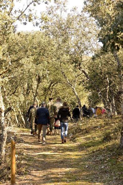 El recorrido del sendero es de unos tres kilómetros y podrá visitarse a partir de Semana Santa