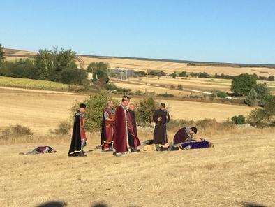 Recreación de la Batalla de Atapuerca que se celebra todos los años en la localidad que lleva el mismo nombre.