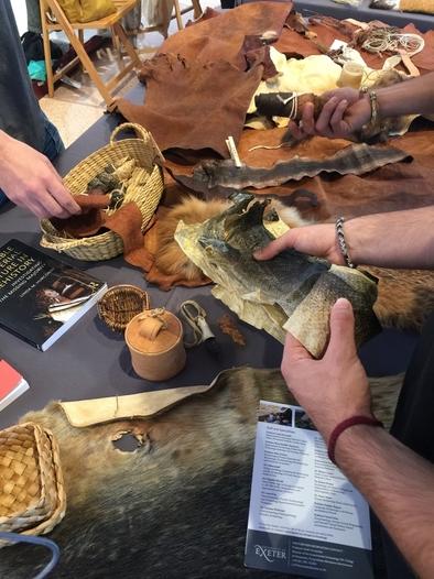 Jornada práctica de talleres del V Congreso Internacional de Arqueología Experimental.