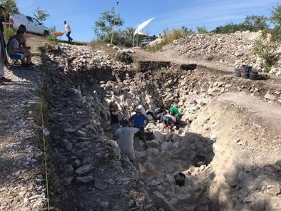 IX Campaña de excavación de Treviño