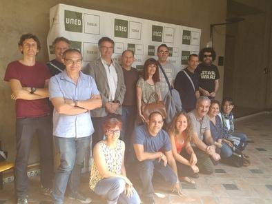Algunos de los ponentes y participantes del curso.