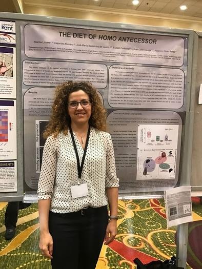 Marina Lozano, en el congreso de Nueva Orleans de la AAPA