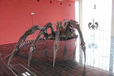 Araña Marina es una de las piezas que se pueden ver en el CAYAC, en Ibeas de Juarros.