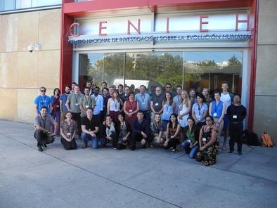 Participantes del Summer School on Speleothem Science -S4 celebrado en Burgos en agosto pasado.