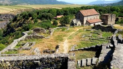Yacimientos medievales de Dmanisi.