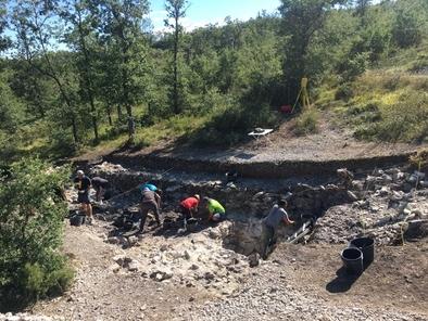 VIII campaña de excavación en el yacimiento de Treviño (Burgos)