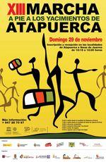 XIII Marcha a pie a los yacimientos de la sierra de Atapuerca