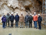 Científicos de Repsol y del Proyecto Atapuerca celebran en los yacimientos de la sierra de Atapuerca su segunda mesa de trabajo