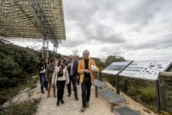 La ministra de Defensa visita los yacimientos de Atapuerca