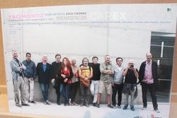 Una exposición en el CAREX vincula Atapuerca con el arte