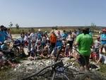 El campamento urbano Aspaym visita Atapuerca