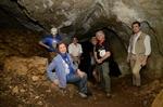 S.M. la Reina Doña Sofía en Cueva Mayor