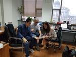 Bermúdez de Castro y María Martinón-Torres estudian los dientes de Tongzi en China