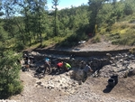 Campaña de excavación en Treviño (Burgos)